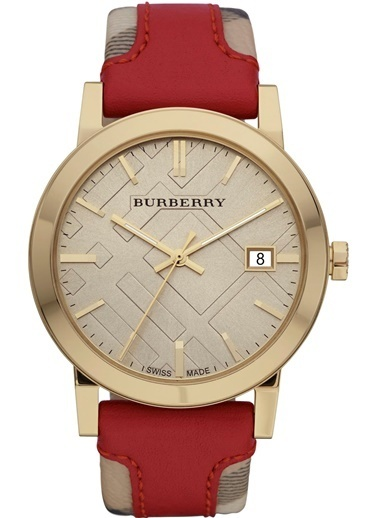 Burberry Saat Sarı